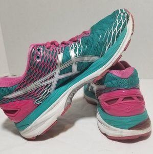 Asics Womens Gel Nimbus 18 Running Shoes| sz 8
